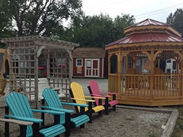 Lighthouses, Gazebos, Chairs