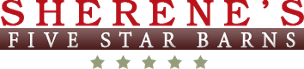 Logo, Sherene's   Five Star Barns, Storage Sheds in Indianapolis, IN